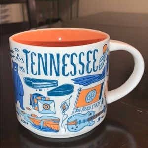 Starbucks Tennessee Been There Series Coffee Cup